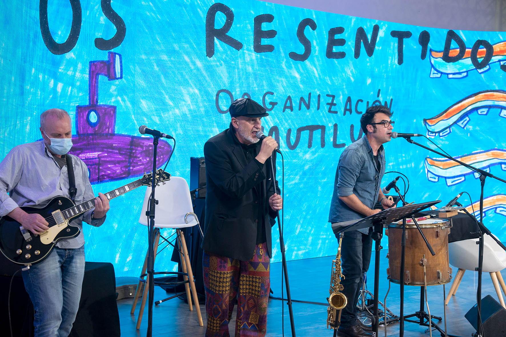 Os Resentidos presentan o primeiro disco de temas novos en 28 anos
