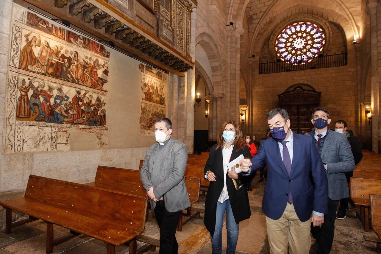O templo de Mondoñedo inicia este programa que se desenvolverá co horizonte do Xacobeo 2027