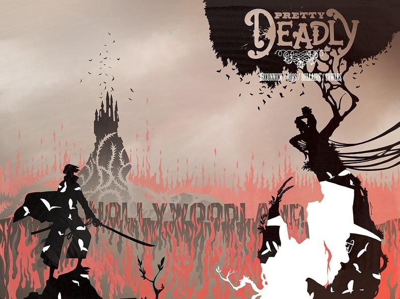 Ven a luz novos arcos das series <i>Pretty Deadly</i>, <i>Ether</i> e <i>Les Traqueurs</i>