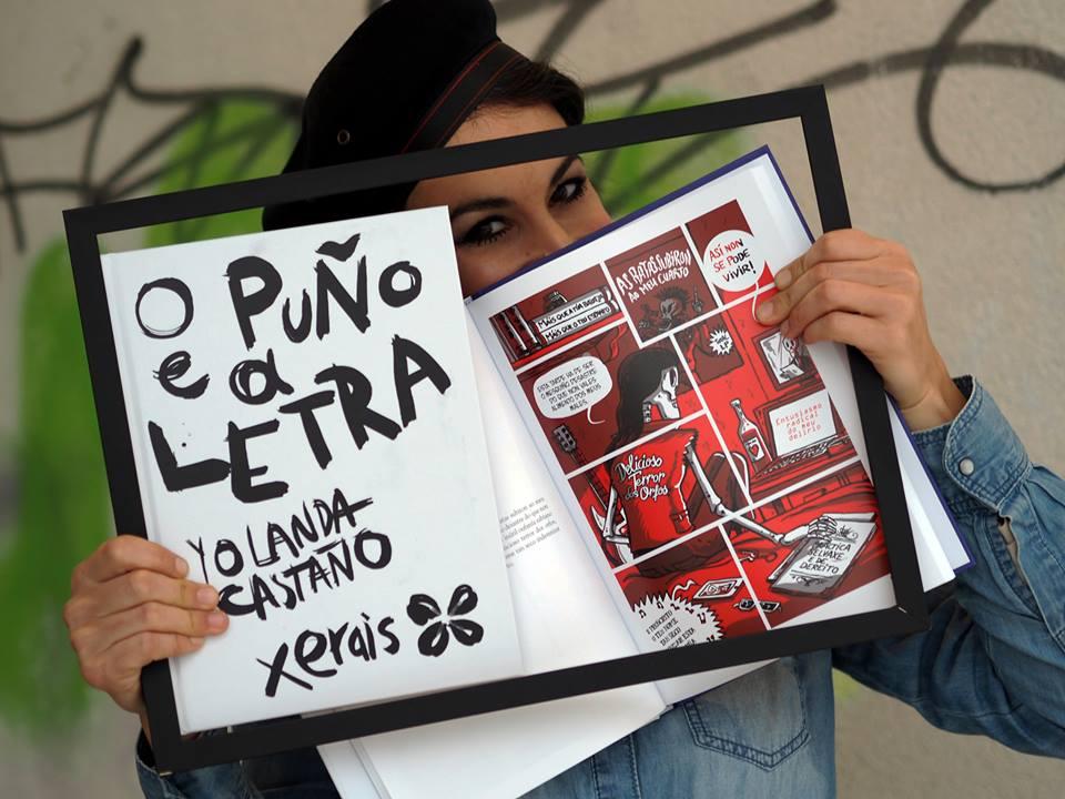 Corenta autores colaboran con Yolanda Castaño na primeira BD poética galega