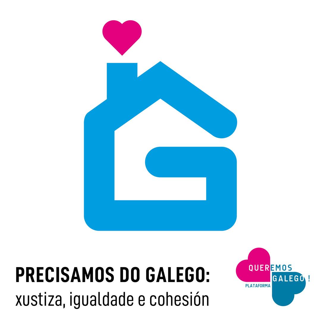 A plataforma convoca a se mobilizar desde a casa a prol da nosa lingua no Día das Letras