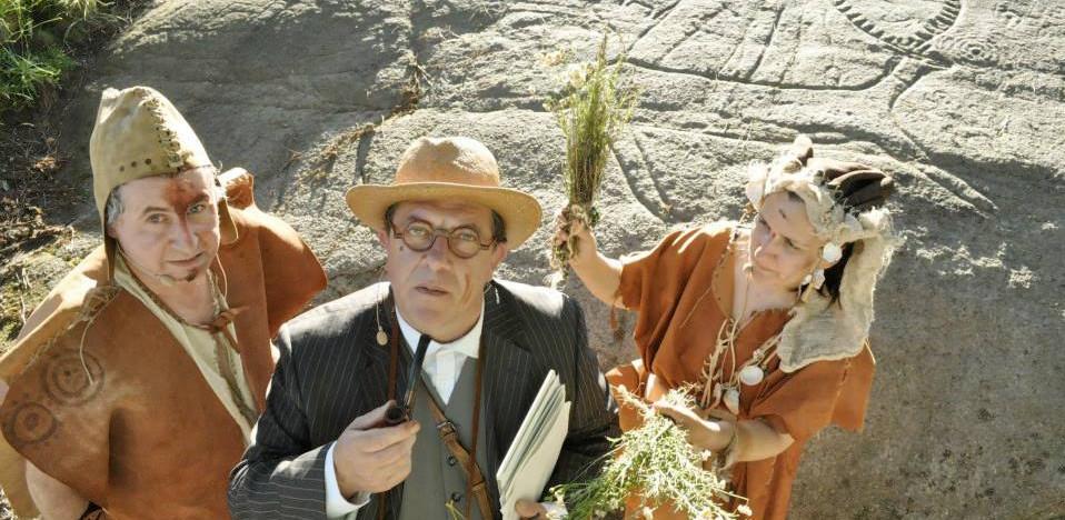 A mestura de teatro e divulgación do patrimonio colle forza en Galicia