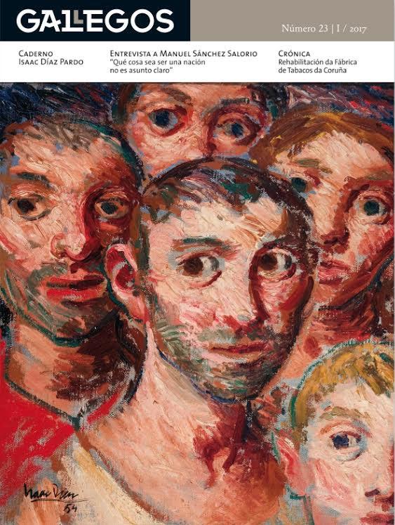 Isaac Díaz Pardo protagoniza a nova entrega da revista de Ézaro Edicións