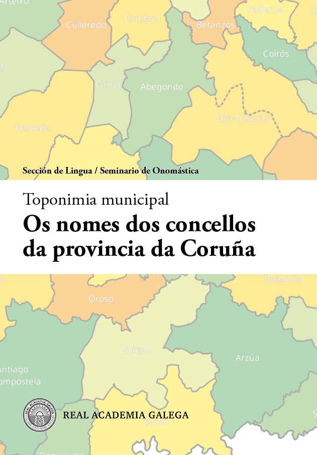 Gonzalo Navaza repasa a orixe e significado dos nomes dos 93 concellos da provincia