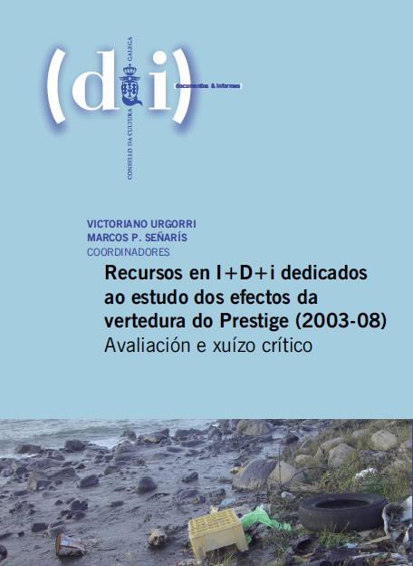 Esta mañá presentábase <i>Recursos en I+D+i dedicados ao estudo dos efectos da vertedura do Prestige (2003-2008)</i>