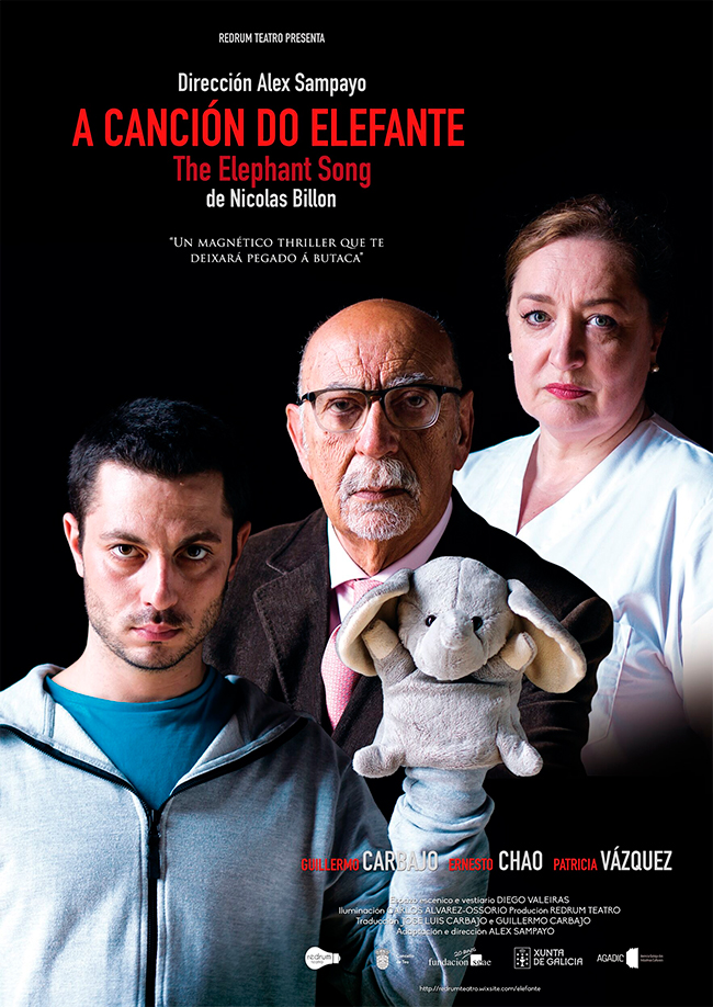 A obra de intriga está escrita polo canadiense Nicolas Billón e dirixida por Alex Sampayo