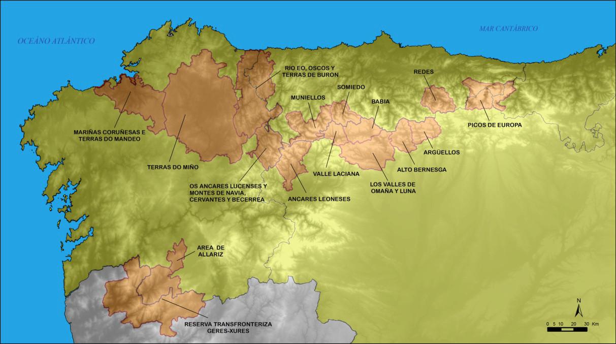 Logo da declaración das Mariñas unha cuarta parte do noso territorio é Reserva da Biosfera