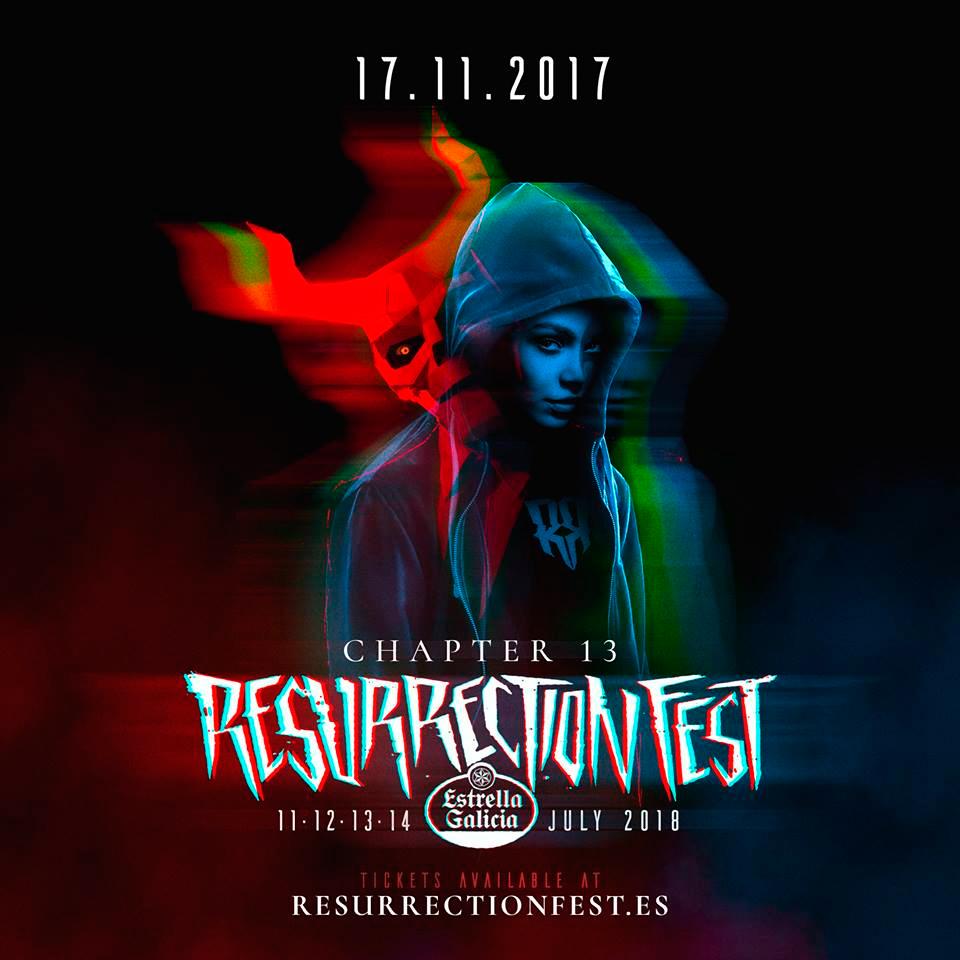 Resurrection Fest presenta a metade do seu cartel para 2018