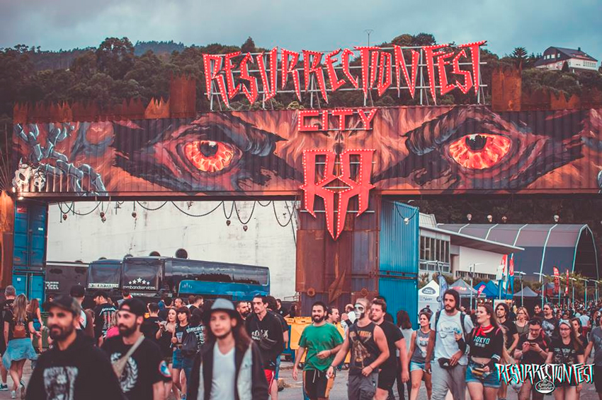 Resurrection Fest coloca 9.000 abonos para 2019 nunha hora e media