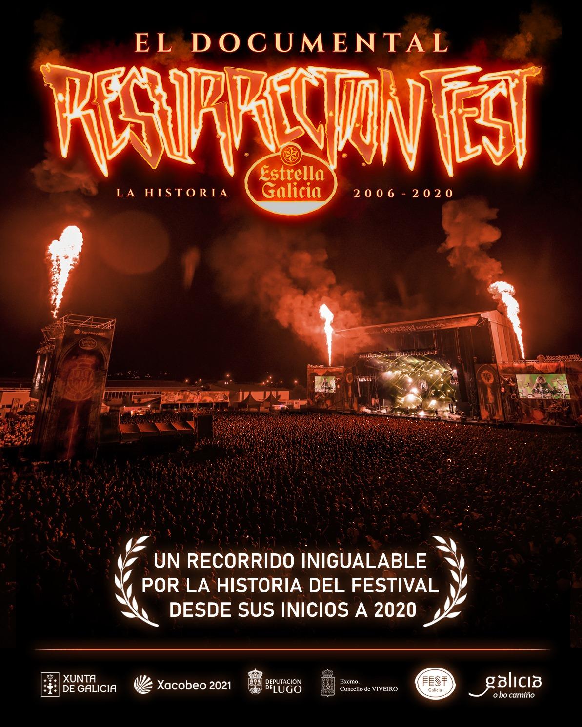 Está dispoñible na canle de YouTube do festival de rock de Viveiro