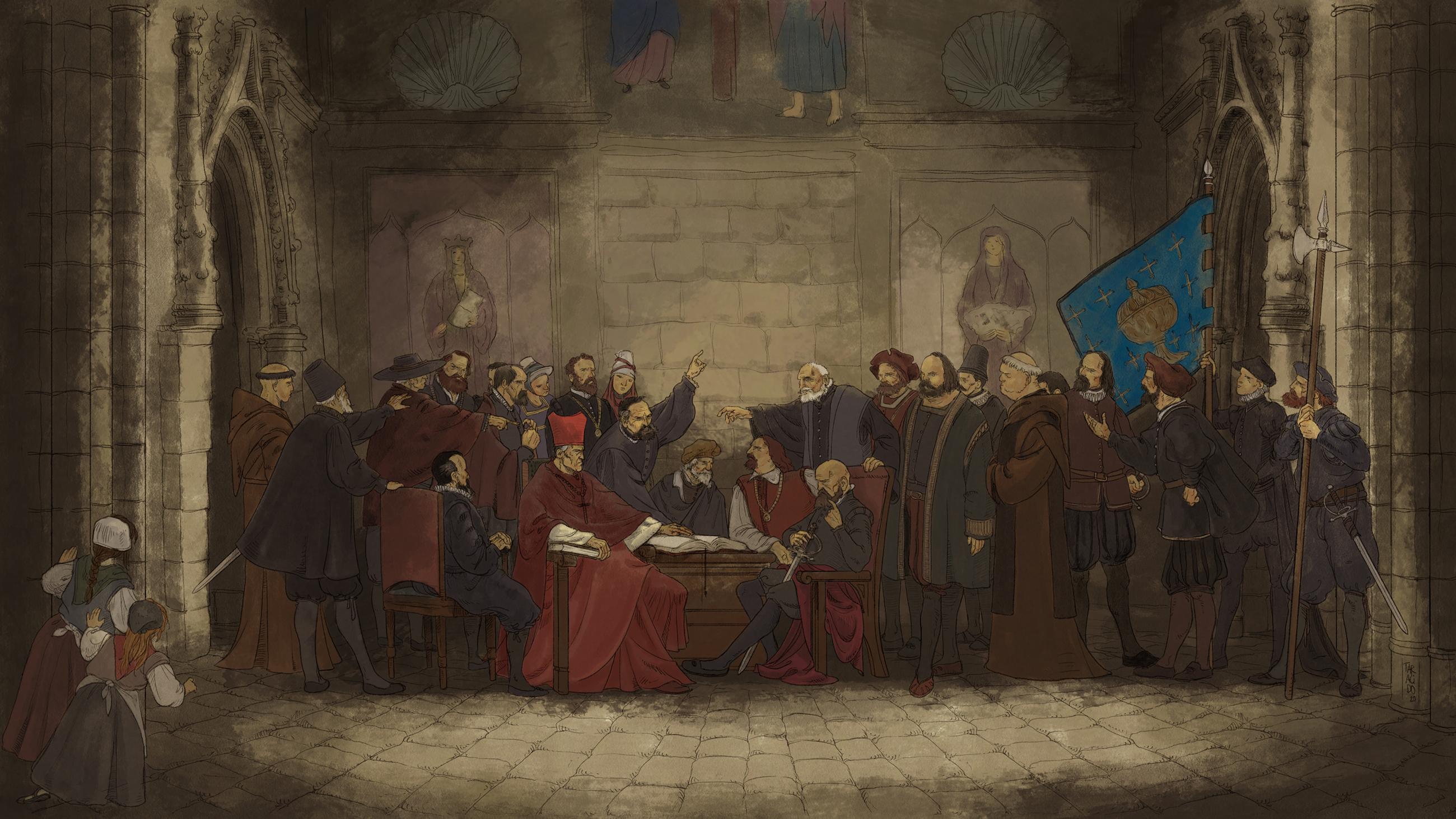 Este venres celébranse 500 anos da Asemblea de Melide, na que Galicia esixiu o voto en Cortes