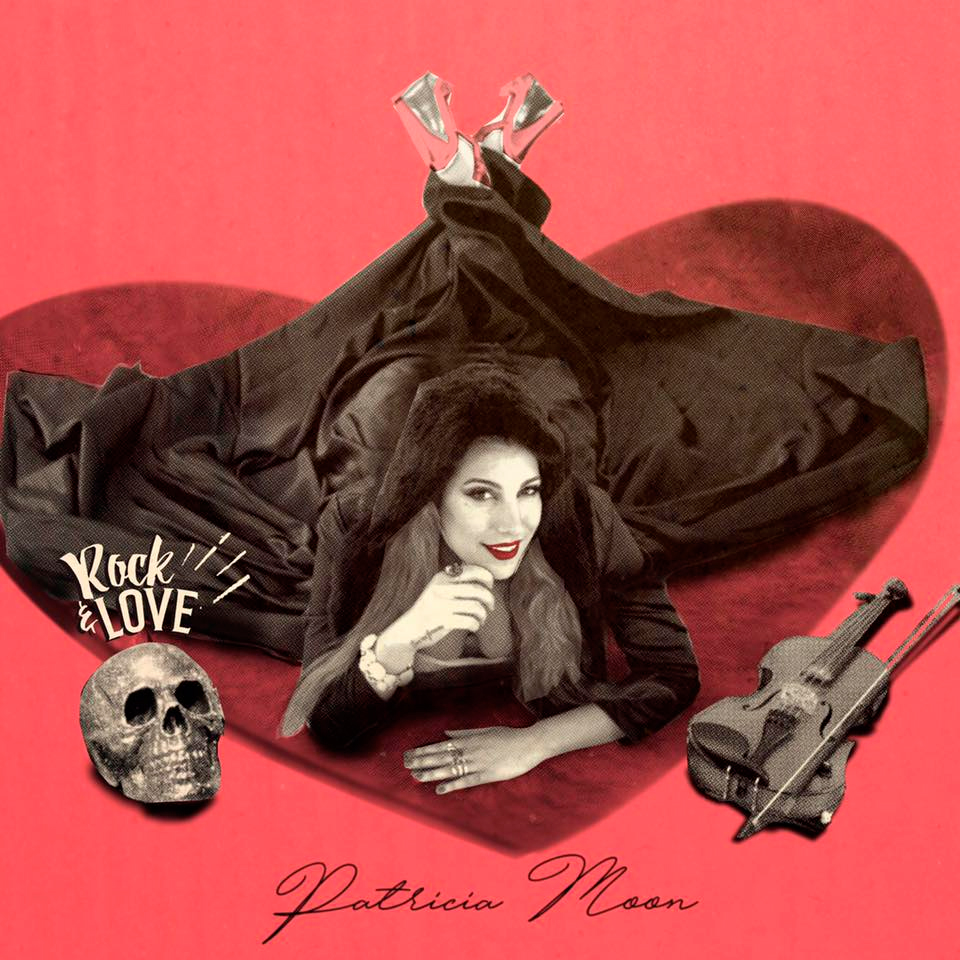 Patricia Moon explota o seu eclecticismo virtuoso no disco 'Rock & Love'