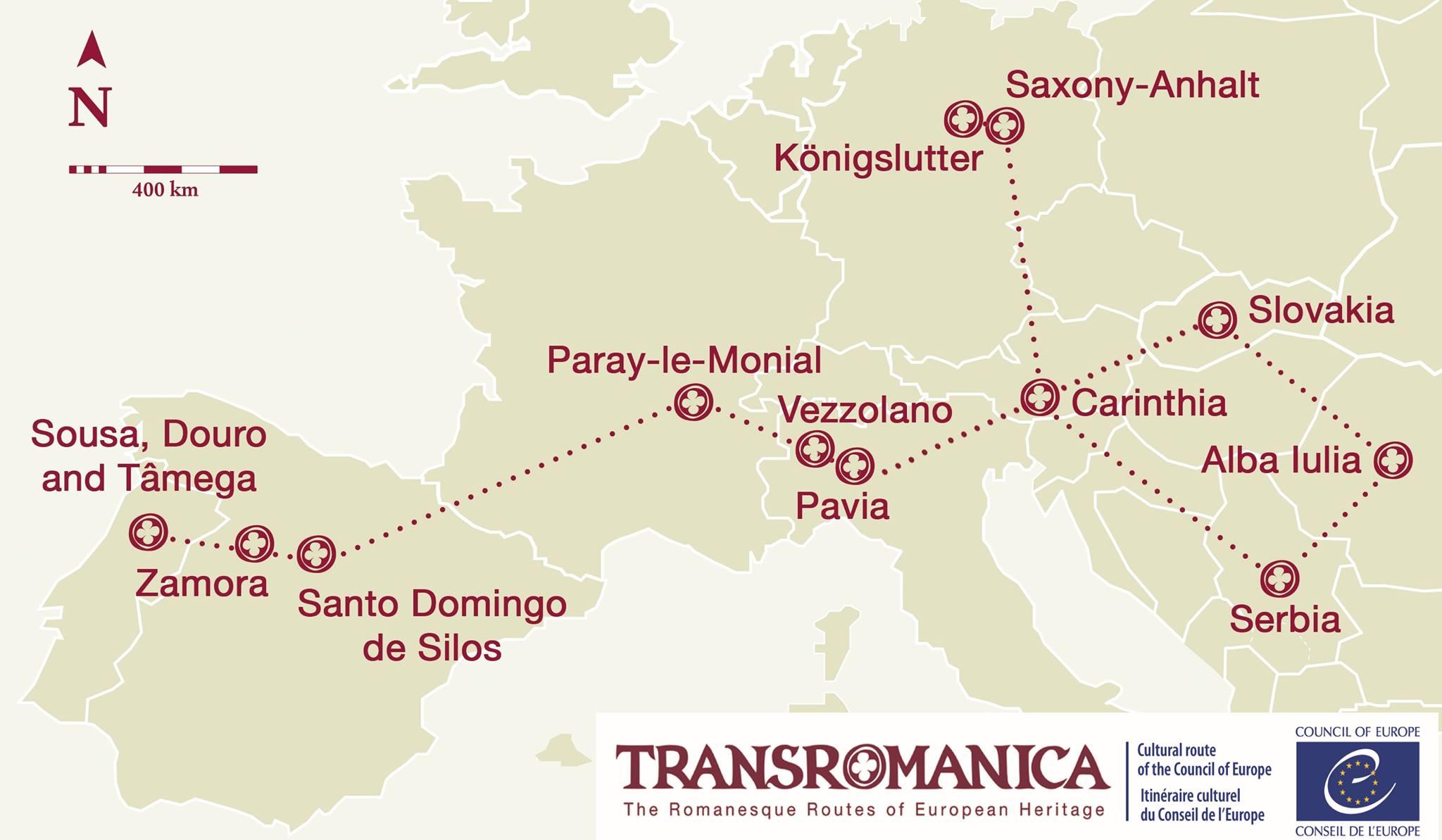 A Deputación de Lugo adhírese á Ruta Transrománica