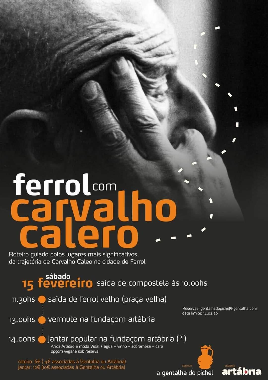 Ferrol concentra estas actividades para coñecer o homenaxeado no Día das Letras