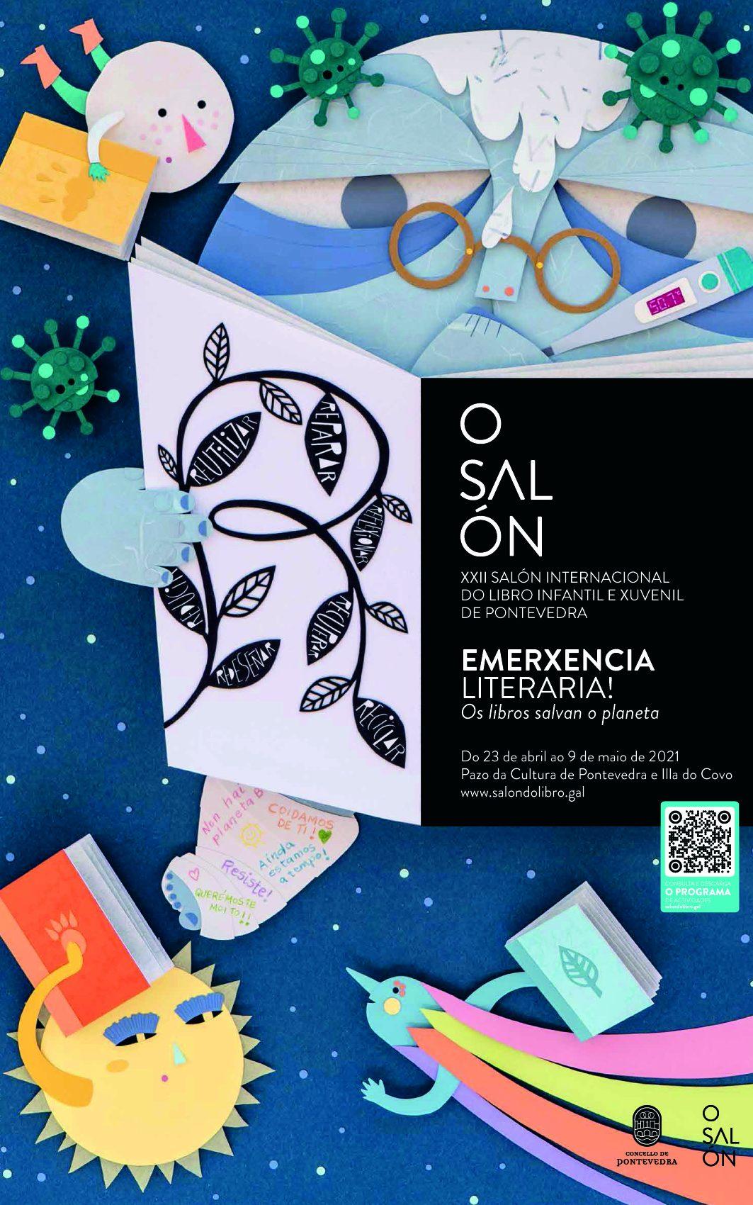 Pontevedra celebra o seu Salón do Libro co lema <i>Emerxencia Literaria: os libros salvan o planeta</i>