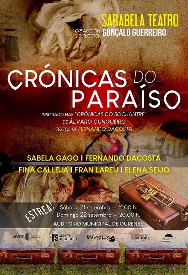 A obra baséase nas 'Crónicas do Sochantre' de Álvaro Cunqueiro