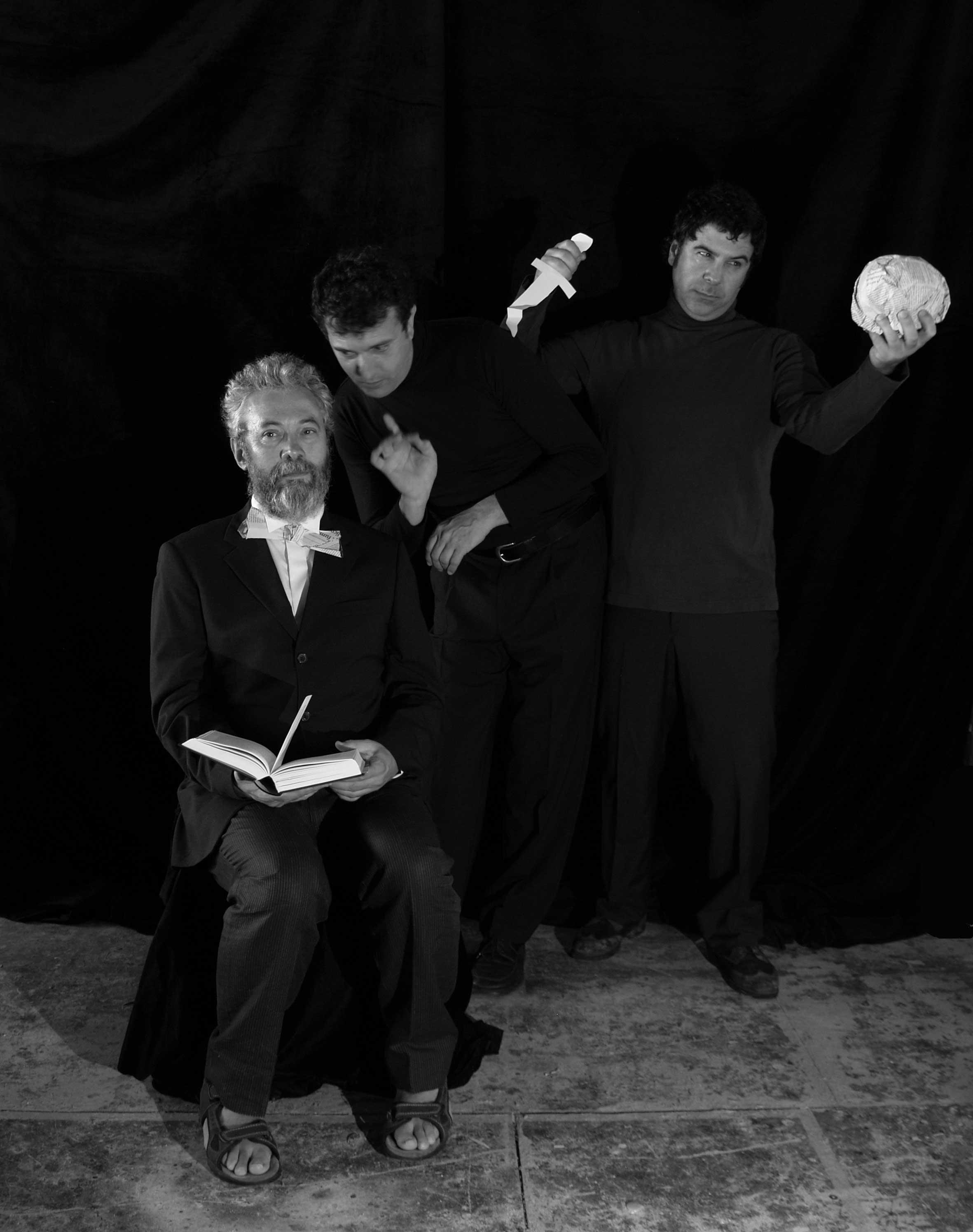 Quico Cadaval, Victor Mosqueira e Evaristo Calvo xúntanse para amosar un Shakespeare menos coñecido