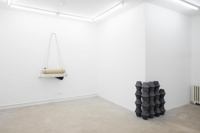 O espazo acolle inauguralmente a exposición 'Signos' De Pablo Barreiro