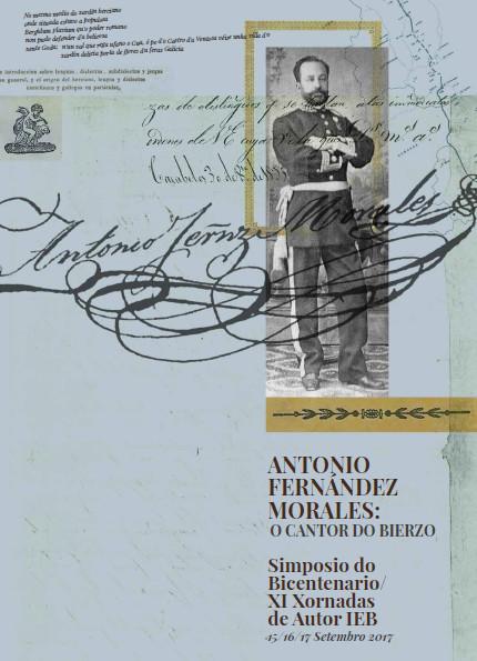 Un simposio conmemorará o bicentenario de Antonio Fernández Morales. A RAG coorganiza este encontro para lembrar este pioneiro bercián do Rexurdimento