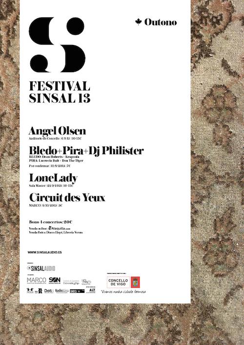 Sinsalaudio presenta o seu XIII Festival de Outono