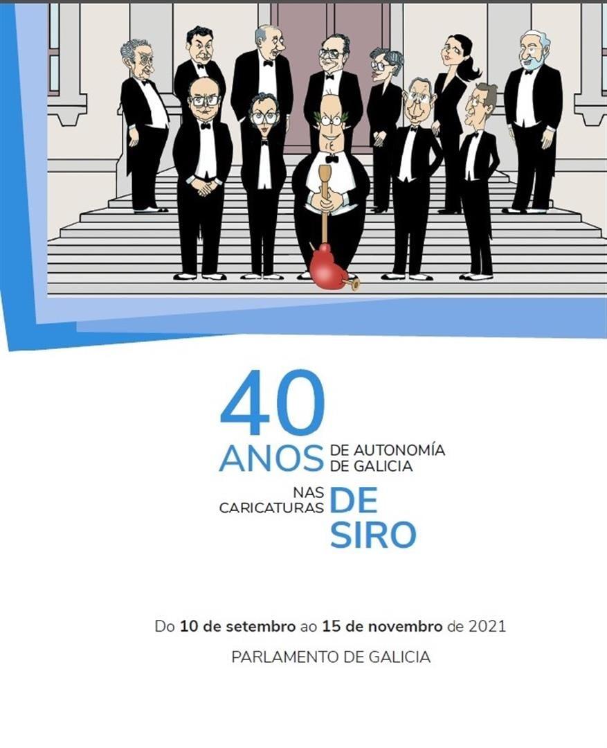 Unha exposición amosa parte dos 1.577 orixinais que o artista doou á cámara galega