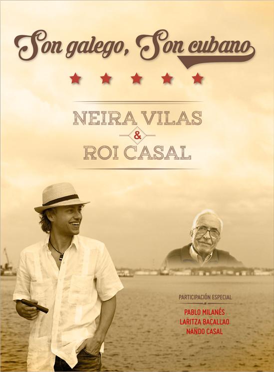 O músico canta a Neira Vilas nun álbum con Pablo Milanés, Laritza Bacallao e Nando Casal