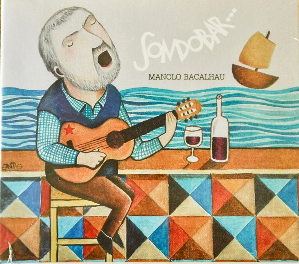 Manolo Bacalhau leva ao disco os cantos da taberna con <i>Sondobar</i>
