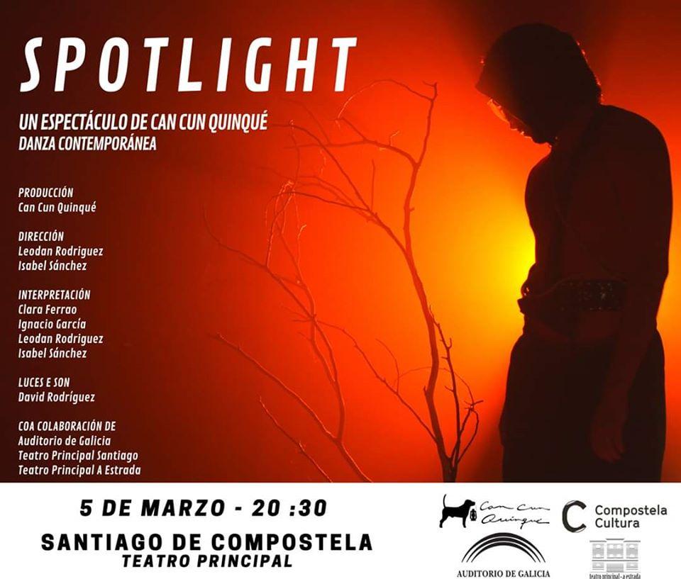 O Teatro Principal acolle este espectáculo de danza contemporánea o 5 de marzo