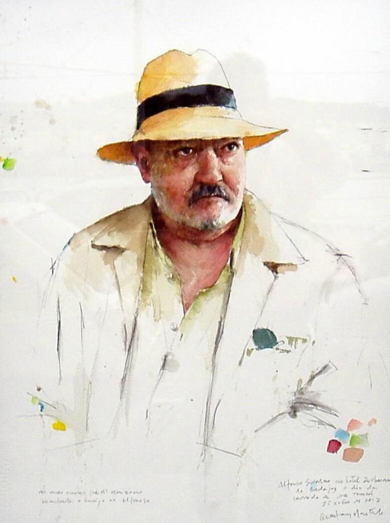 Unha exposición respasa a traxectoria do pintor ata o 25 de febreiro