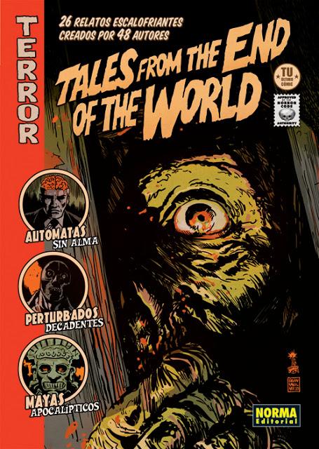 <i>Tales from the end of the word</i>, <i>9 preguntas</i> e <i>Panorama</i> contan con autores do país