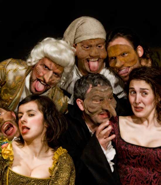 Talía Teatro achégase á avaricia e a luxuria desmedida en Volpone, o seu último espectáculo