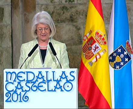 No ano 2007 foi a primeira muller en presidir unha Real Academia estatal en España