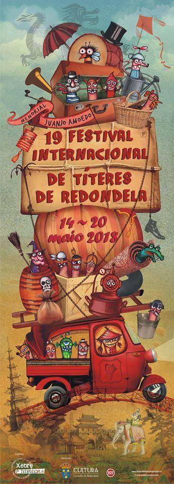 O XIX Festival de Títeres de Redondela reunirá 26 compañías