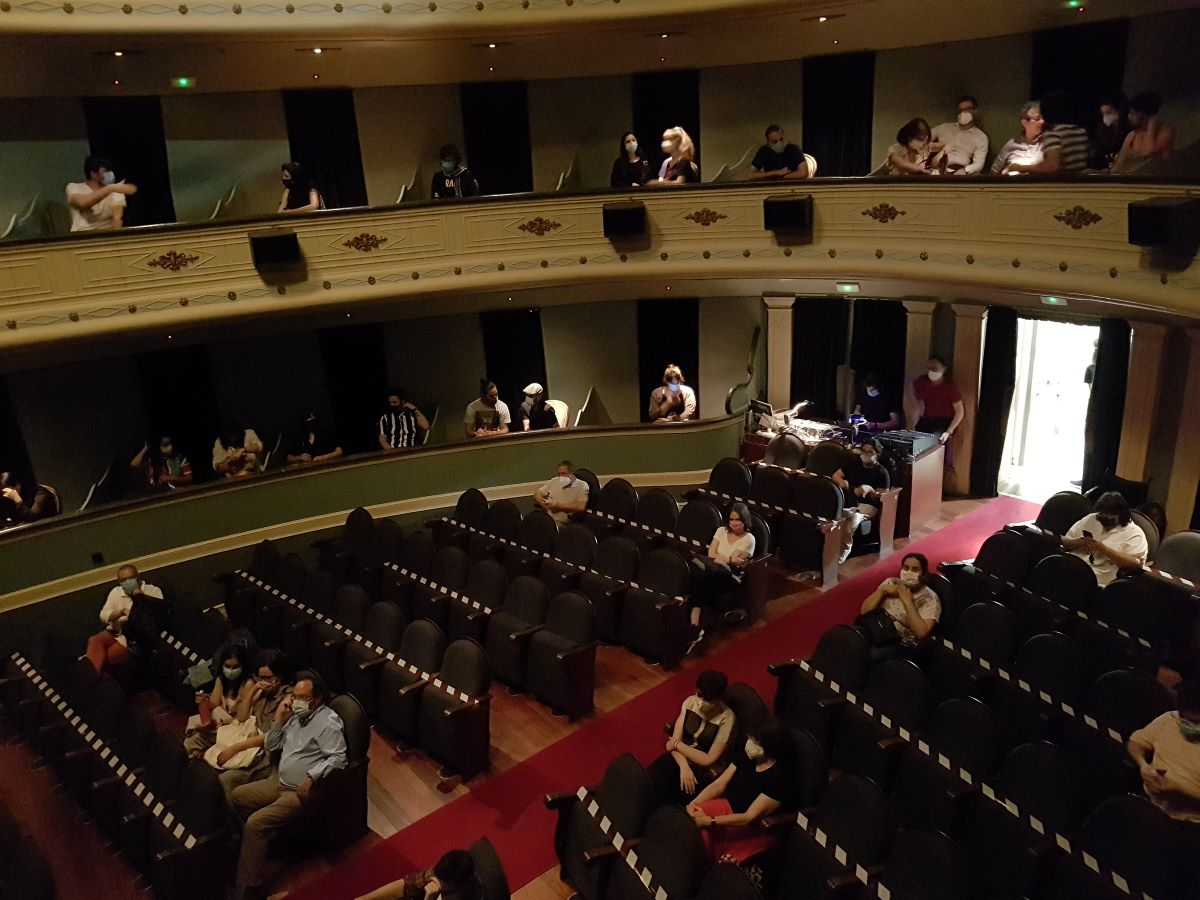 A Xunta permite un máximo de sesenta asistentes independentemente da capacidade dos auditorios
