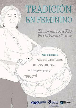 O encontro poderá seguirse polas redes e de xeito presencial este 22 de novembro