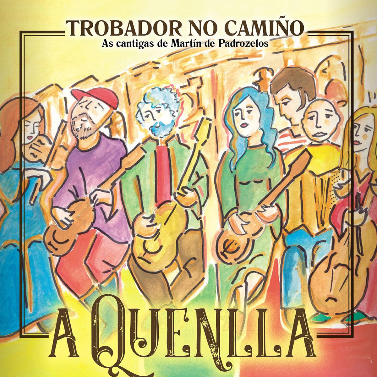 A Quenlla publica un disco con dez temas do considerado primeiro trobador galego
