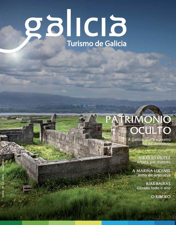 O patrimonio oculto protagoniza a nova entrega da revista de Turgalicia
