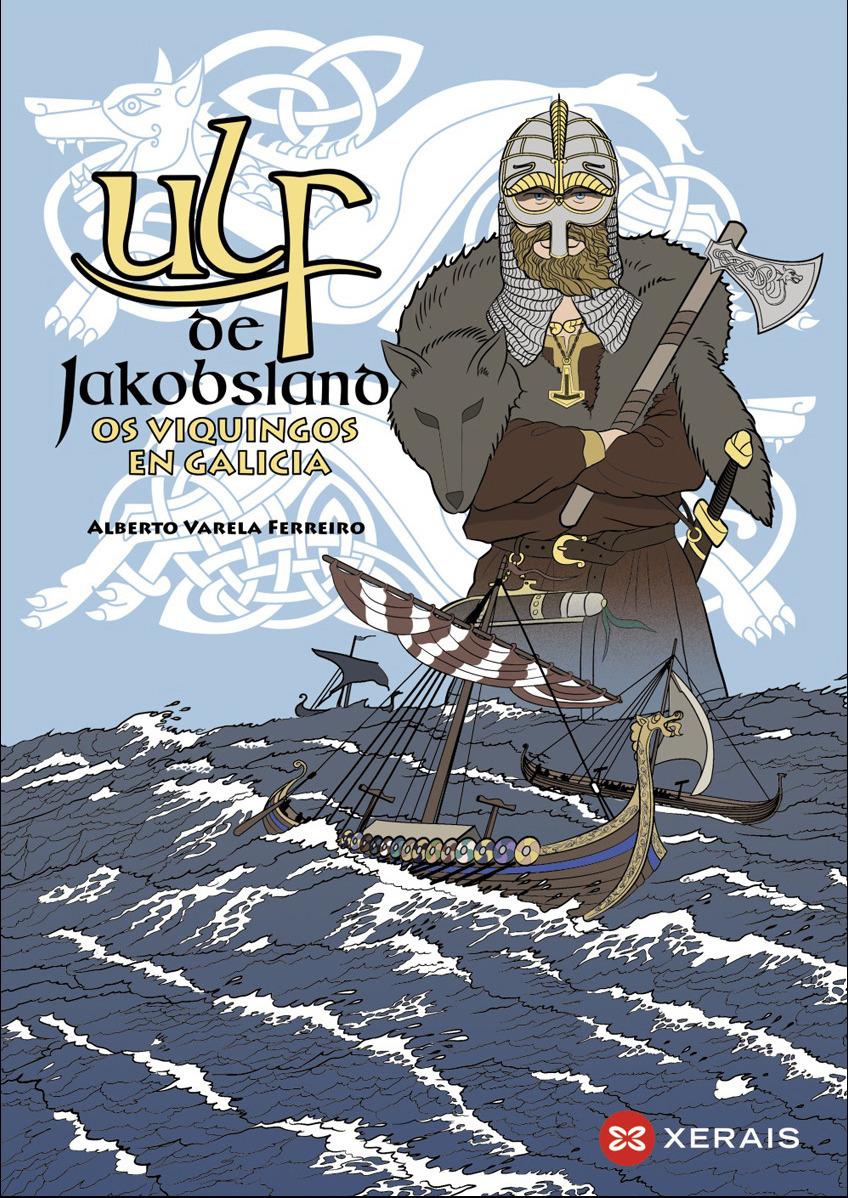 O volume de 80 páxinas repasa a presenza dos vikingos en Galicia