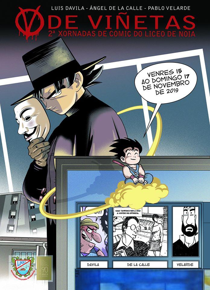 Noia acolle a segunda edición de <i>V de Viñetas</i>