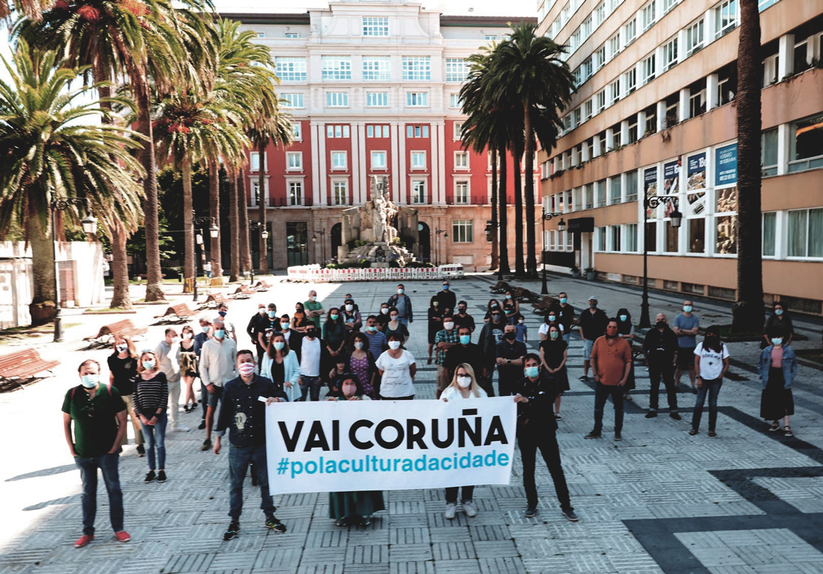Nace a plataforma VAI Coruña para mellorar a vida cultural da cidade