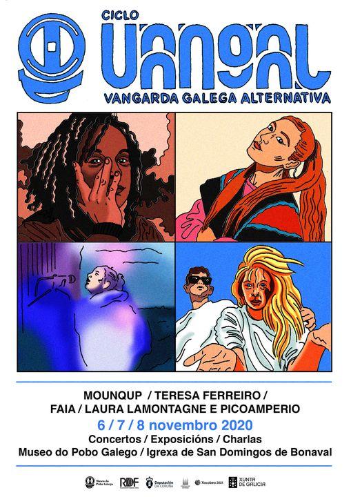 Laura Lamontagne e Pico Amperio, Faia e Teresa Ferreiro continúan o programa ata o domingo 8 de novembro