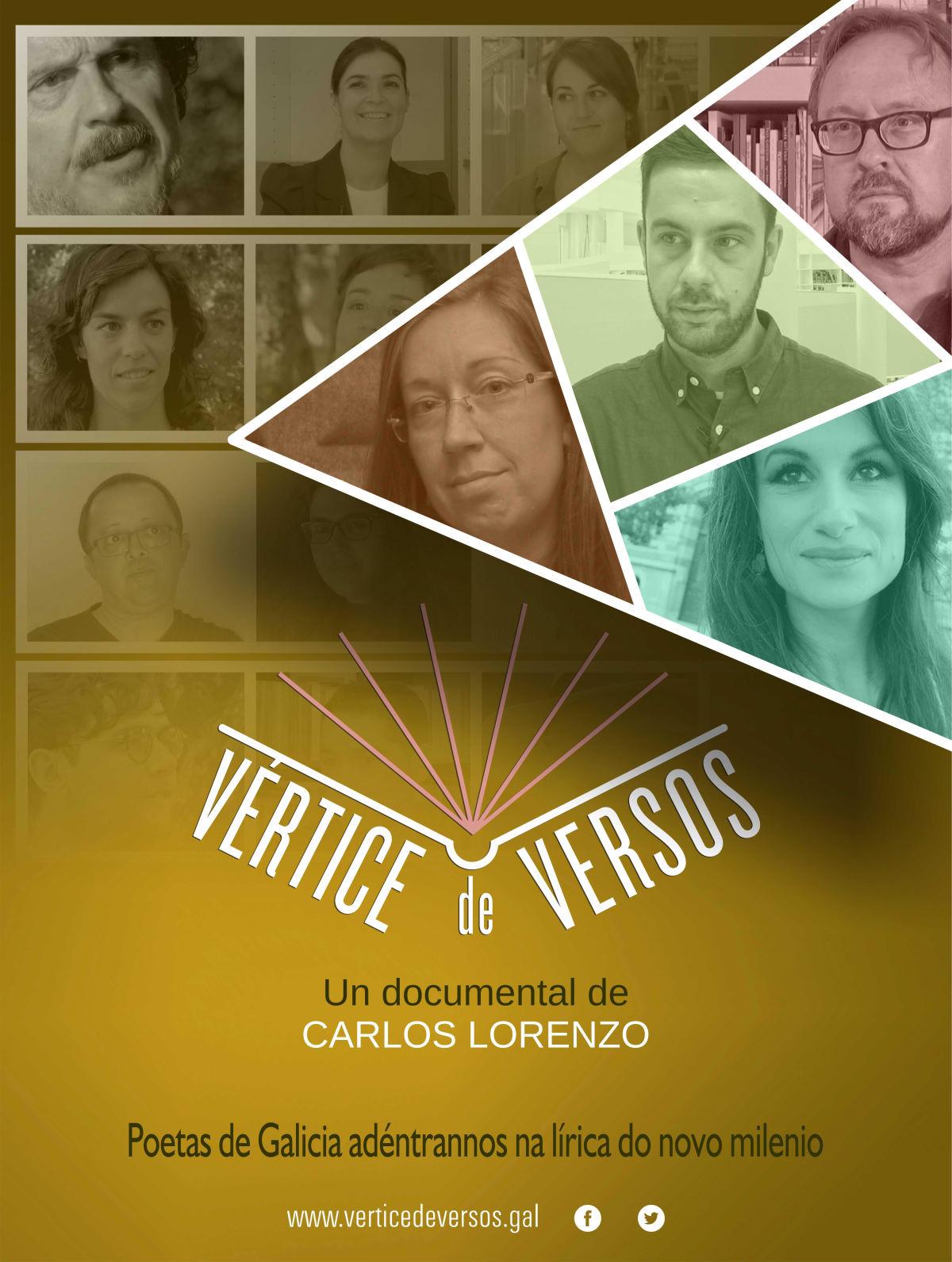 O documental <i>Vértice de Versos</i> percorre a poesía contemporánea galega
