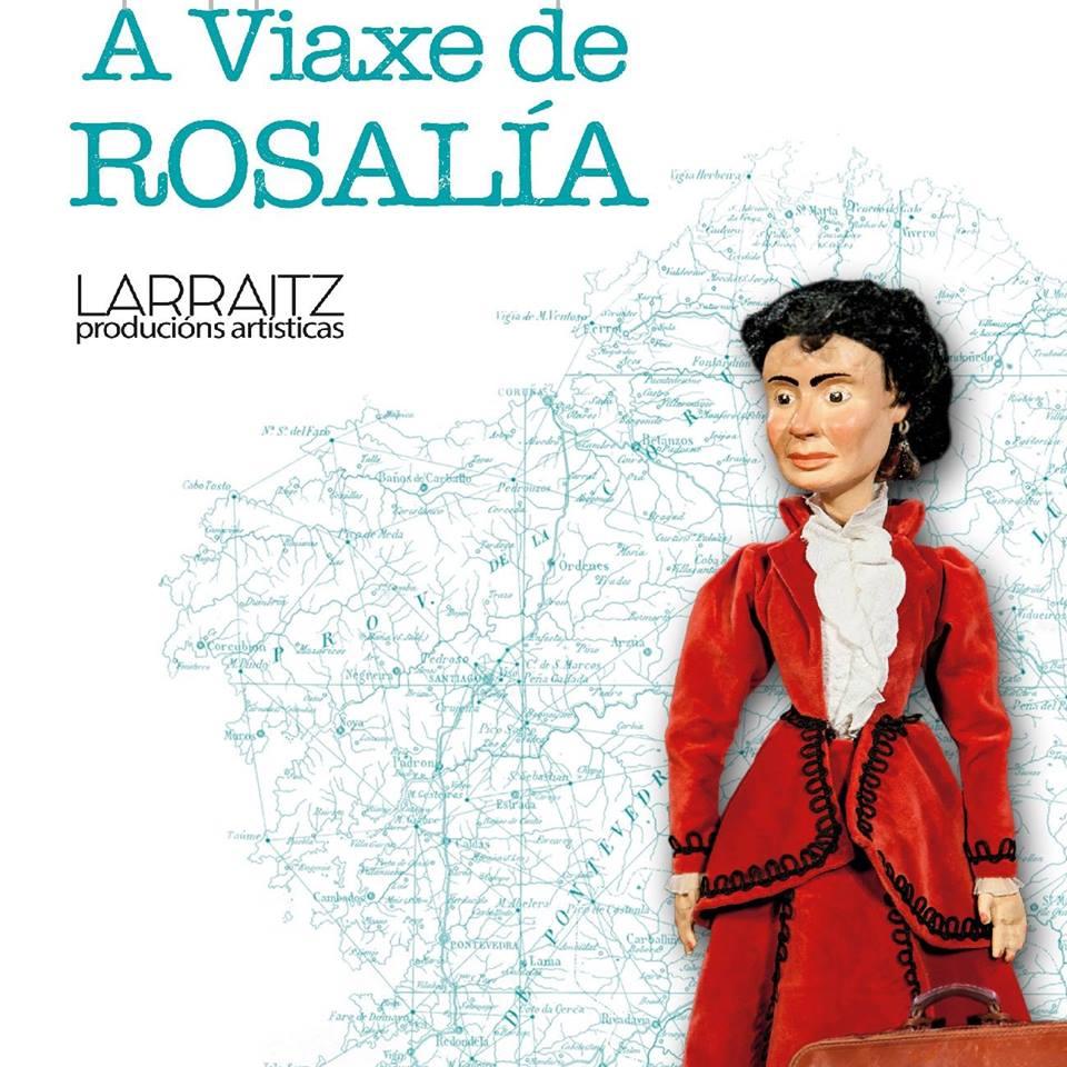 <i>A viaxe de Rosalía</i> representarase no programa FalaRedes