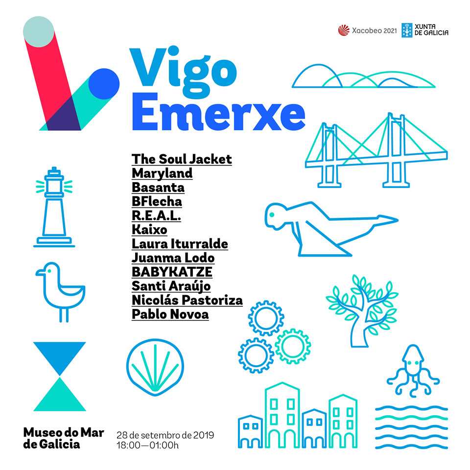 O Museo do Mar dálle voz ao talento musical olívico no festival <i>Vigo Emerxe</i>