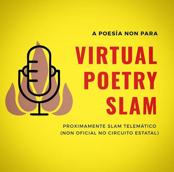 Alguén que respira!, Poetry Slam Compostela e Leite Edicións pásanse ao formato virtual