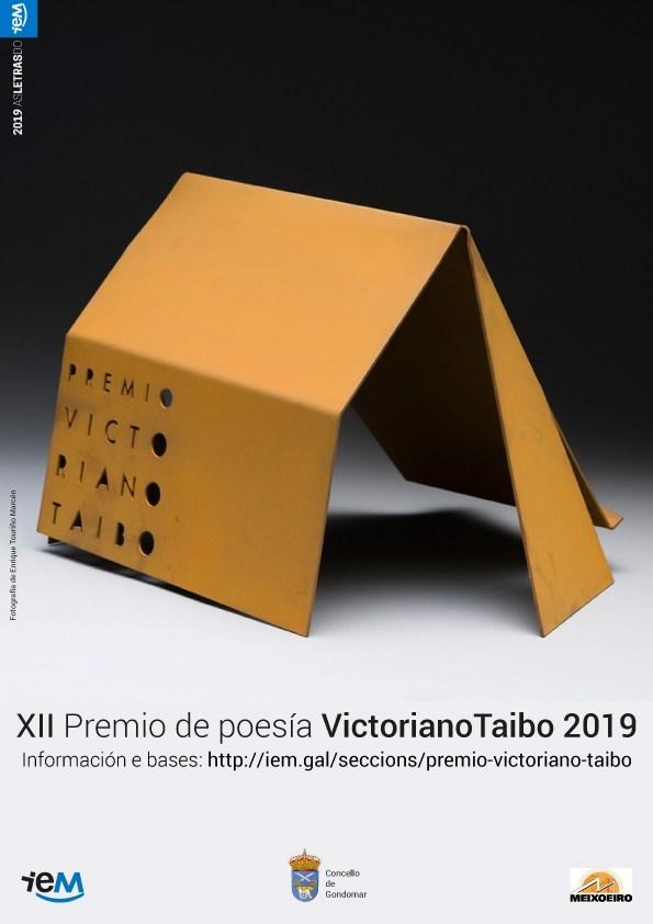 Francisco Fernández Davila faise co XII premio Vitoriano Taibo de Poesía