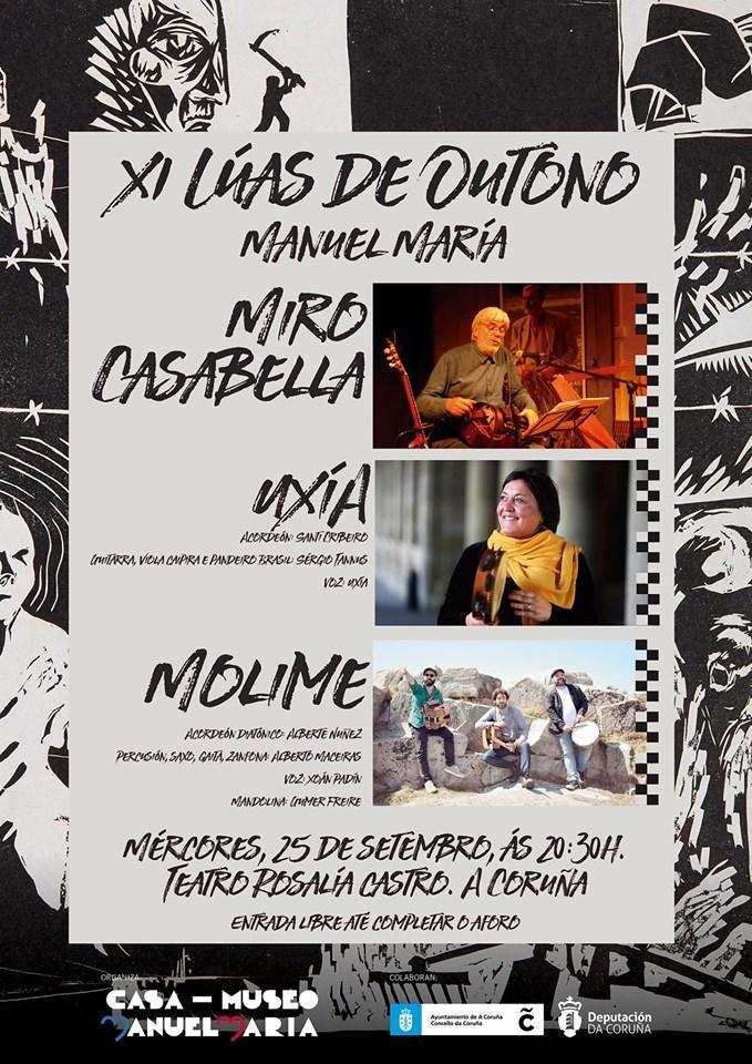 As Lúas de Outono homenaxean a Nova Canción Galega