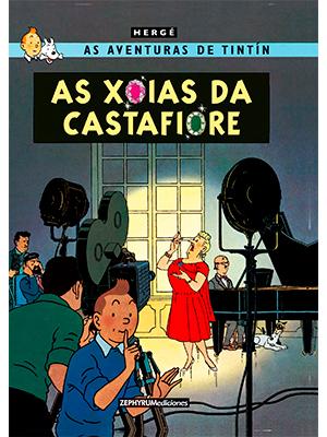 <i>As xoias da Castafiore</i> é o primeiro álbum da colección que ve a luz