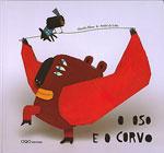 Portada de O oso e o corvo. Autor   Eva Mejuto