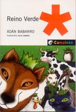 Portada de Reino verde. Autor   Xoan Babarro González